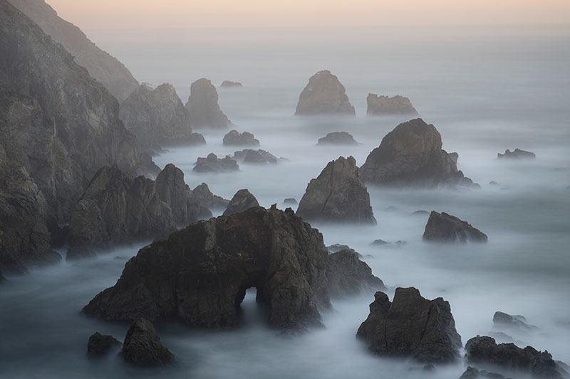 Bodega Head Sunrise Long Exposure, Sonoma Coast, California