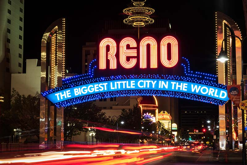 The Biggest Little City In The World, Reno, Nevada